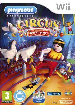Jaquette de Playmobil Circus : Tous en piste Wii