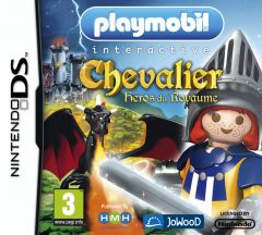 Jaquette de Playmobil Chevalier : Héros du Royaume DS