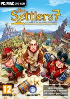Jaquette de The Settlers 7 : A l'Aube d'un nouveau Royaume PC