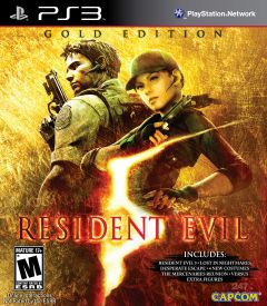 Jaquette de Resident Evil 5 : Gold Edition PlayStation 3