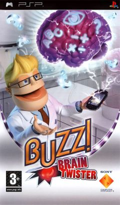Jaquette de Buzz ! Brain Twister PSP