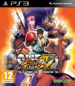 Jaquette de Super Street Fighter IV PlayStation 3