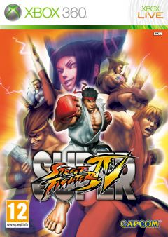 Jaquette de Super Street Fighter IV Xbox 360