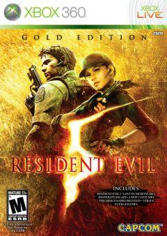 Jaquette de Resident Evil 5 : Gold Edition Xbox 360