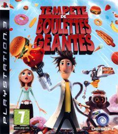 Jaquette de Tempête de boulettes géantes PlayStation 3