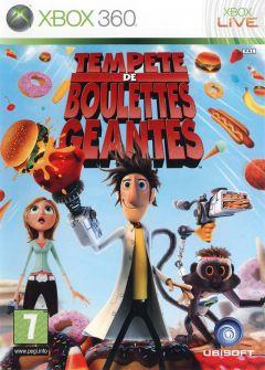 Jaquette de Tempête de boulettes géantes Xbox 360