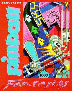 Jaquette de Pinball Fantasies Amiga