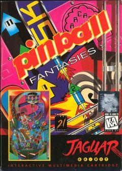 Jaquette de Pinball Fantasies Jaguar
