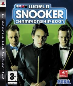 Jaquette de World Snooker Championship 2007 PlayStation 3