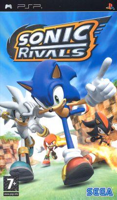 Jaquette de Sonic Rivals PSP