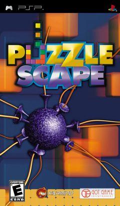 Jaquette de PuzzleScape PSP