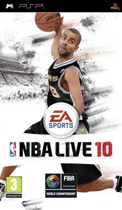 Jaquette de NBA Live 10 PSP