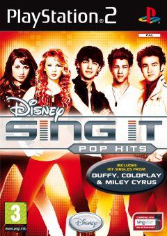 Jaquette de Sing It : Pop Hits PlayStation 2