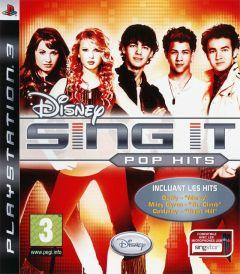 Jaquette de Sing It : Pop Hits PlayStation 3