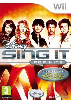 Jaquette de Sing It : Pop Hits Wii