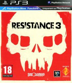 Jaquette de Resistance 3 PlayStation 3