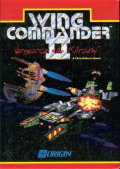 Jaquette de Wing Commander II : Vengeance of the Kilrathi PC