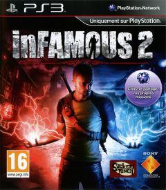 Jaquette de inFAMOUS 2 PlayStation 3