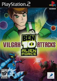 Jaquette de Ben 10 : Alien Force Vilgax Attacks PlayStation 2