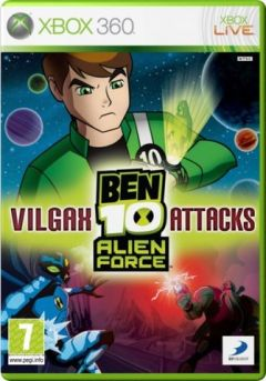 Jaquette de Ben 10 : Alien Force Vilgax Attacks Xbox 360