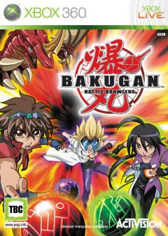 Jaquette de Bakugan : Battle Brawlers Xbox 360