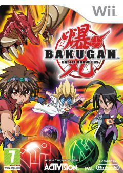 Jaquette de Bakugan : Battle Brawlers Wii
