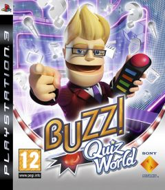 Jaquette de Buzz ! Quiz World PlayStation 3