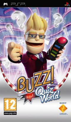 Jaquette de Buzz ! Quiz World PSP