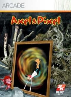 Jaquette de Axel & Pixel Xbox 360