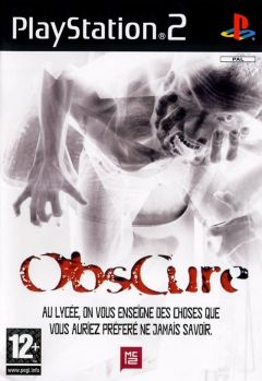 Jaquette de Obscure (original) PlayStation 2