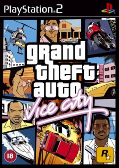 Jaquette de Grand Theft Auto : Vice City PlayStation 2