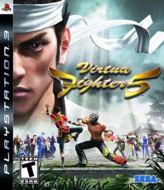 Jaquette de Virtua Fighter 5 PlayStation 3