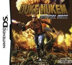 Jaquette de Duke Nukem : Critical Mass DS