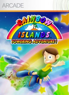 Jaquette de Rainbow Islands Towering Adventure ! Xbox 360