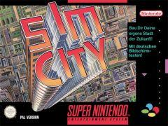 Jaquette de SimCity (Original) Super NES