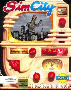 Jaquette de SimCity (Original) Amiga