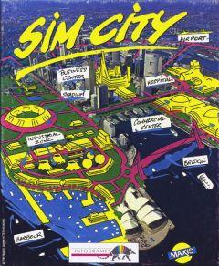 Jaquette de SimCity (Original) Atari ST
