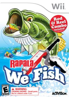 Jaquette de Rapala : We Fish Wii