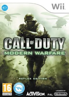 Jaquette de Call of Duty : Modern Warfare Reflex Wii