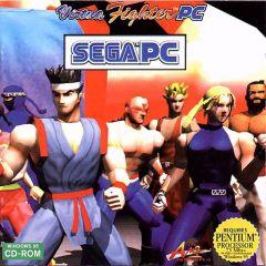 Jaquette de Virtua Fighter PC