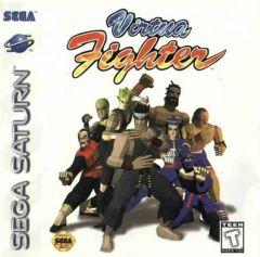 Jaquette de Virtua Fighter Sega Saturn
