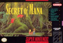 Jaquette de Secret of Mana (original) Super NES