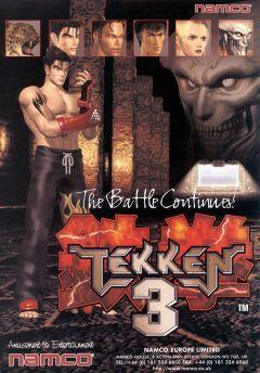 Jaquette de Tekken 3 Arcade