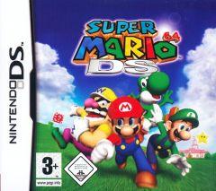 Jaquette de Super Mario 64 DS DS