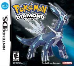 Jaquette de Pokémon Diamant DS
