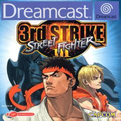 Jaquette de Street Fighter III : Third Strike - Fight for the Future Dreamcast