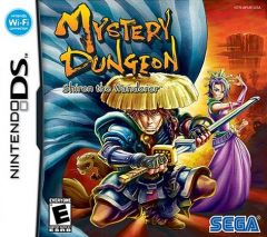 Jaquette de Mystery Dungeon : Shiren the Wanderer DS
