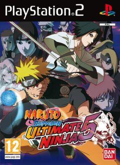 Jaquette de Naruto Shippuden : Ultimate Ninja 5 PlayStation 2