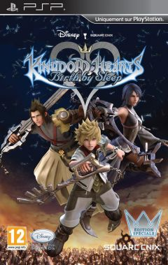 Jaquette de Kingdom Hearts : Birth by Sleep PSP