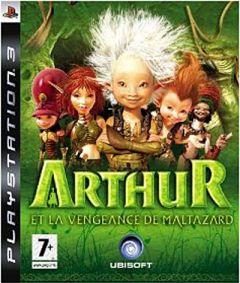 Jaquette de Arthur et la Vengeance de Maltazard PlayStation 3